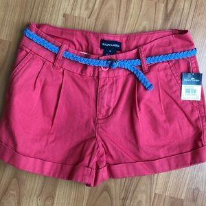Polo Ralph Lauren shorts, size 12